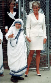 Mother Teresa & Princess Diana, N.Y.C.,18 Juner 1997