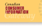 Canadian Consumer Information Gateway - Travelers