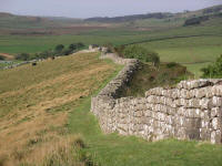 Image:Hadrian's wall at Greenhead Lough.jpg