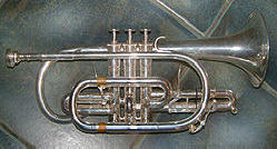 A B♭ cornet